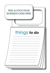 Magnetic Business Card Notepads