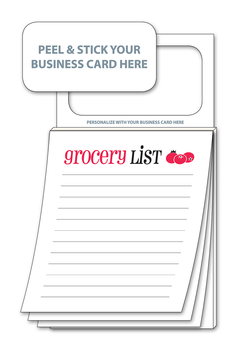 Products magnetic notepads magnetic business card notepads magnetic business card notepads to do lists and grocery lists colourmoves