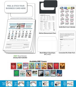 Magnetic real estate calendars promo solutions get your magnetic business card real estate calendar order in today reheart Choice Image